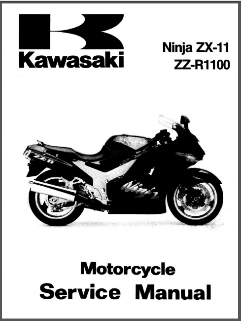 Kawasaki Zx1100 d5 1997 Workshop Service Repair Manual