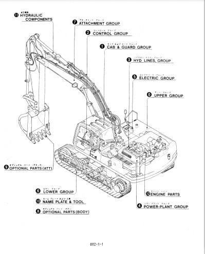 Kobelco SK310-2III SK310LC-2III Hydraulic Excavators