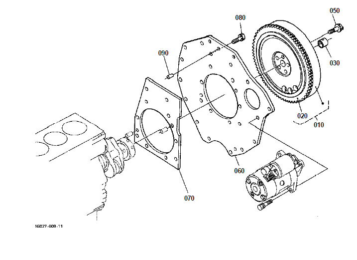 Kubota B7410D Tractor Illustrated Master Parts List Manual
