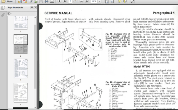Mitsubishi Tractors Master Workshop Repair Service Manual