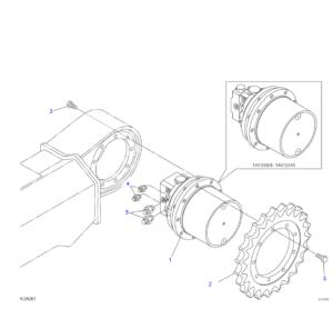 Takeuchi TB145 Compact Excavator Illustrated Master Parts