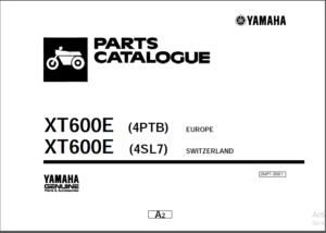 Yamaha Xt 200 250 350 500 600 E Z Ep 660rx Repair Manual