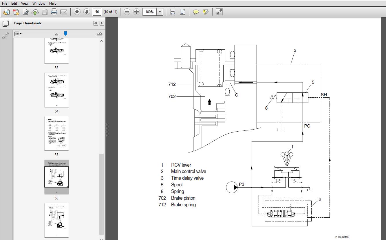 Hyundai R220LC-9S Crawler Excavator Service Repair Manual