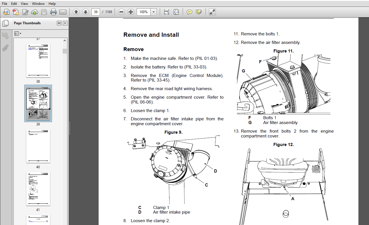 JCB 6TFT, 6TST Dumper Service Repair Manual Download JCB