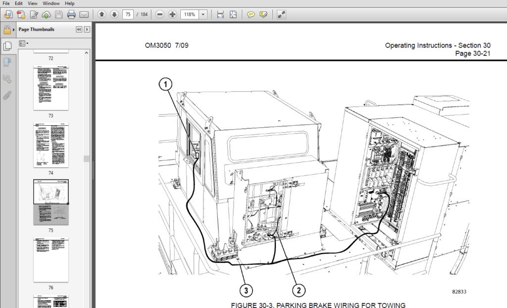 Komatsu 860E-1KT Dump Truck Operation & Maintenance Manual