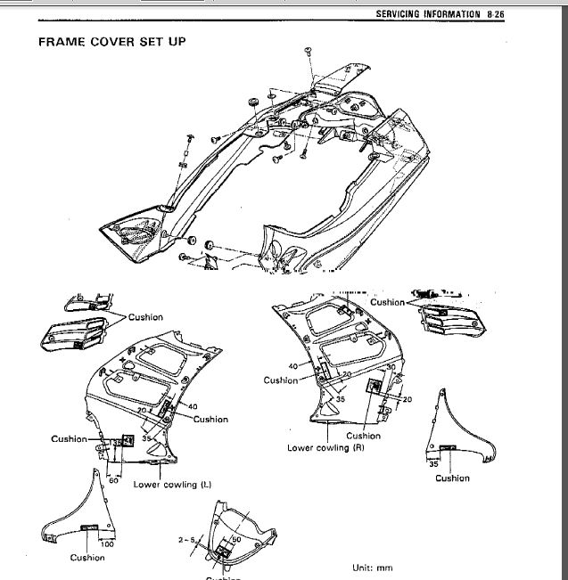 Suzuki Rf 900r Rf900r DIY Service Manual Repair