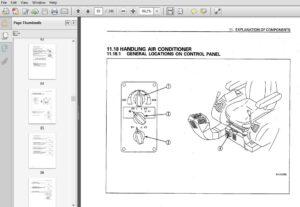 KOMATSU PC128US-2 HYDRAULIC EXCAVATOR OPERATION