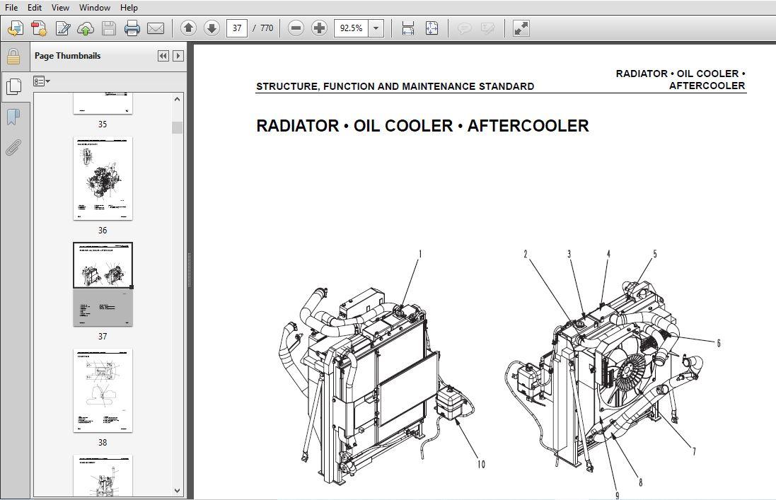 KOMATSU PC160LC-7 SERVICE REPAIR MANUAL (SN:10001 & UP