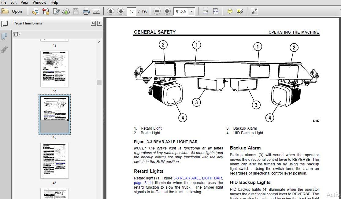 Komatsu Dump Truck 960E-2K Operation & Maintenance Manual