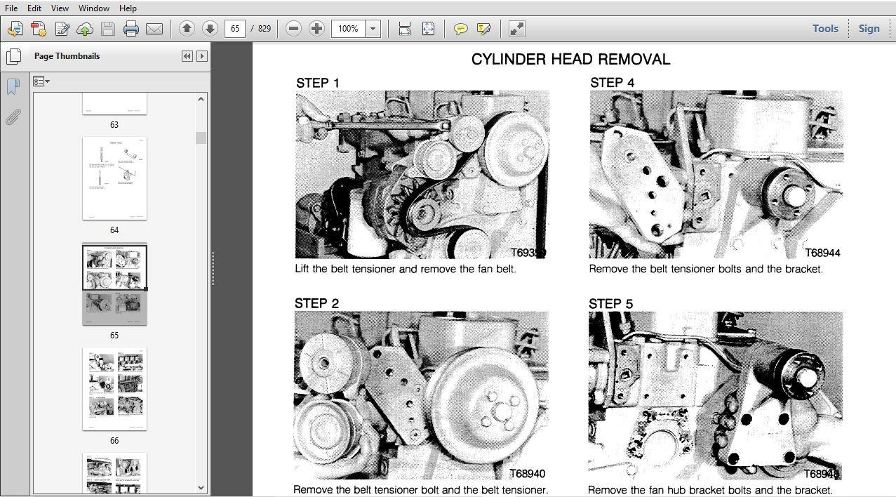 Case 550E Crawler Service Repair Manual (8-16692R0) Case
