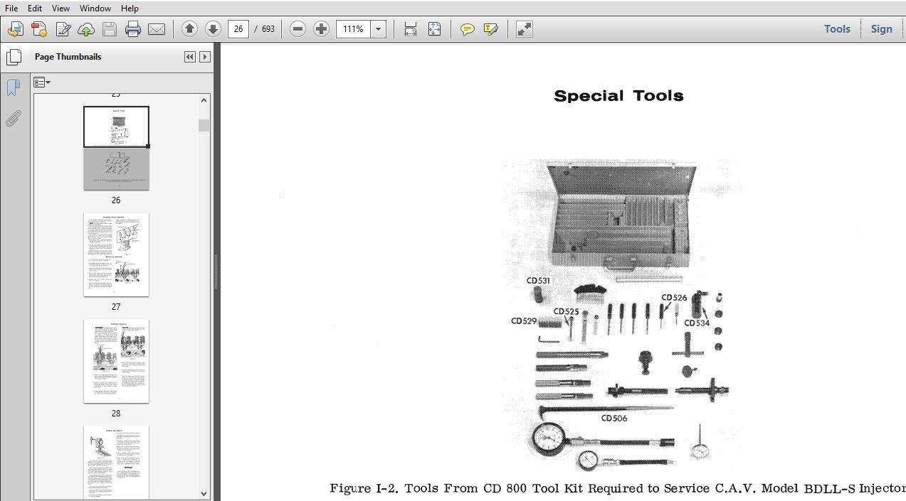Case 600 thru 660 Combine Service Repair Manual (9-63801
