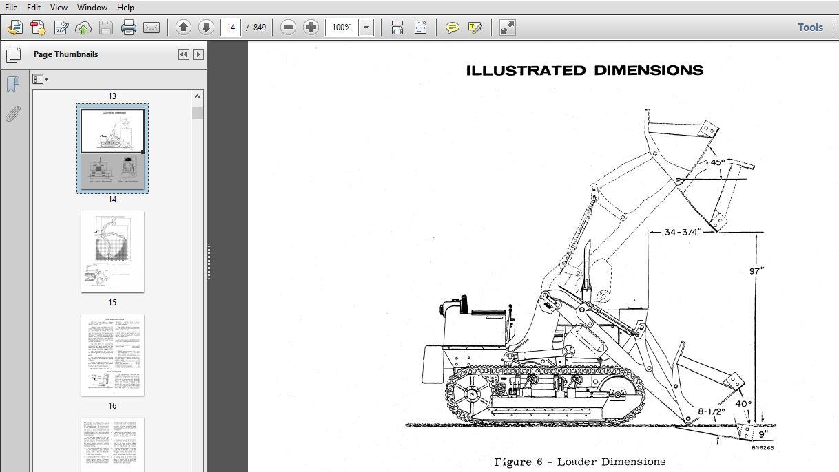 Case 750 Crawler Service Repair Manual (9-72152) Case 750