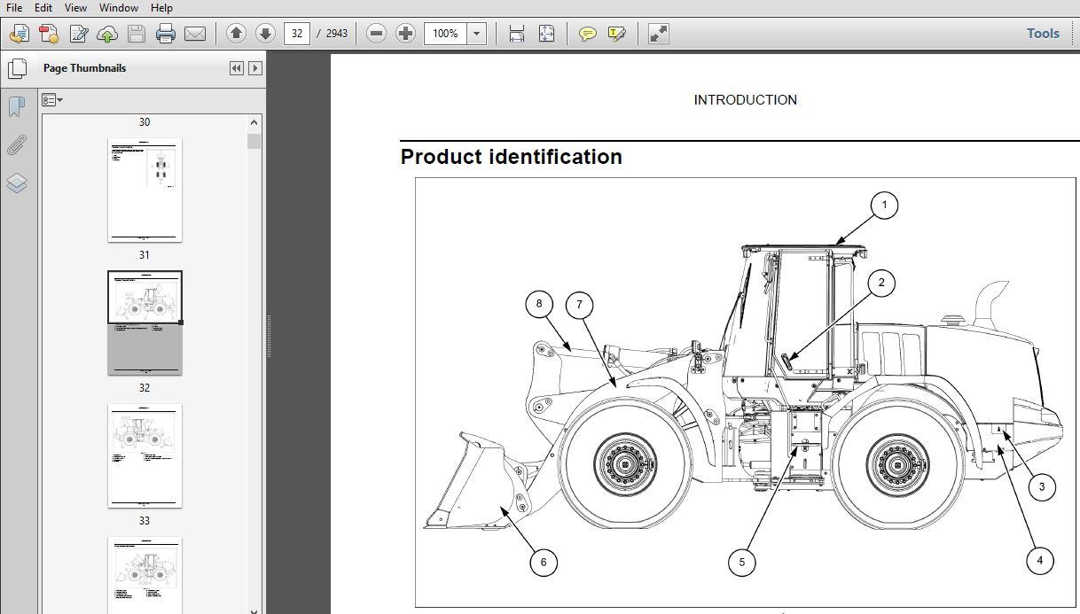 Case 821G 921G Stage IV Wheel Loader Service Repair Manual