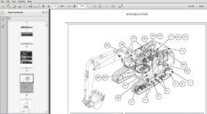 Case Crawler Excavator CX350C CX370C Service Manual