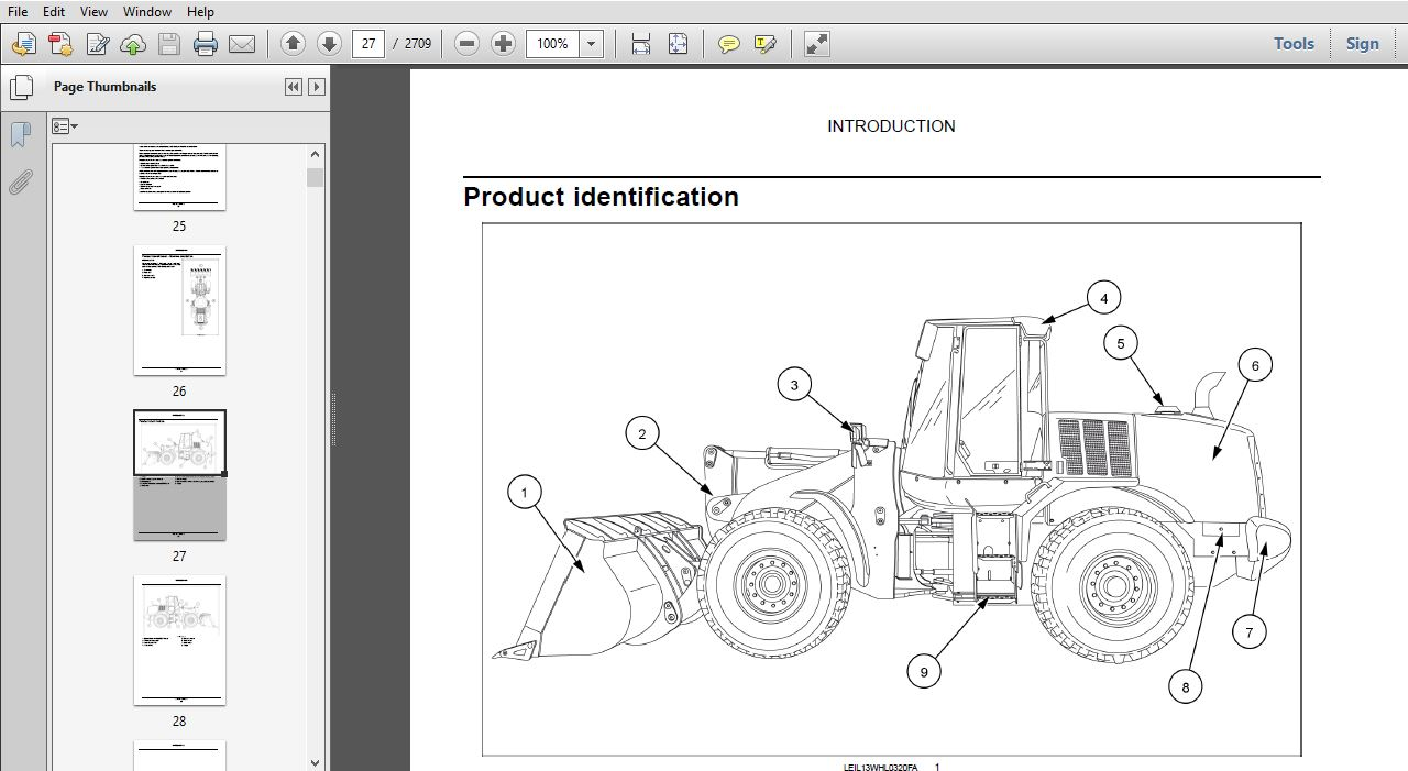 Case Wheel Loader 621F 721F Tier 4 final Service Manual