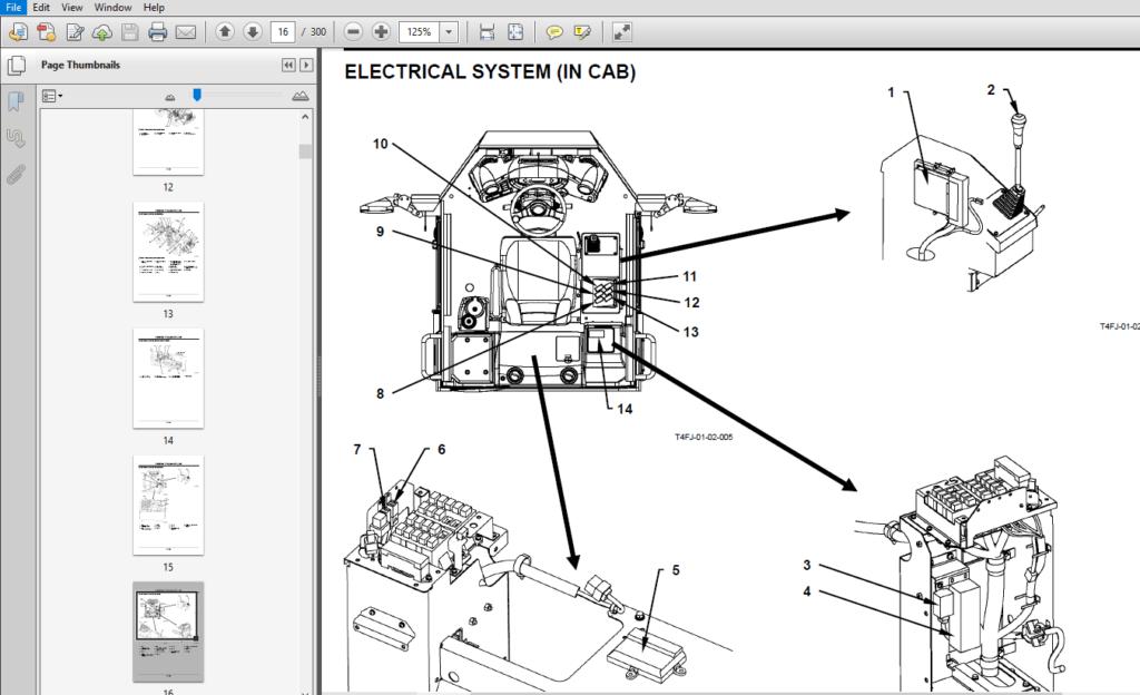 Hitachi ZW100-G 120-G Wheel Loader Operational Principle