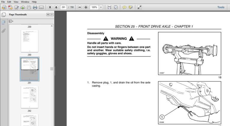 New Holland TT60A, TT75A Service Repair Manual (84154805
