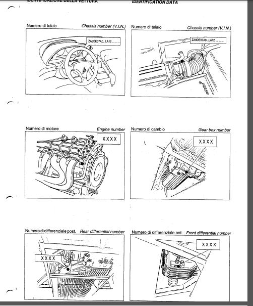 Lamborghini Diablo VT & Diablo 2WD Service Repair Workshop