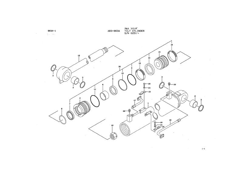 Kawasaki Wheel Loader 65Z3 Workshop Manual + Parts Manual