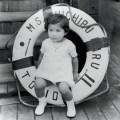 Yoko Ono as a child