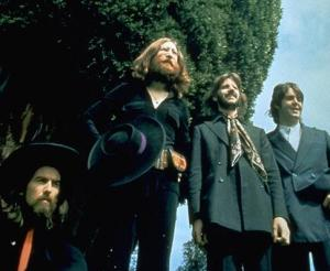 Long-haired Beatles
