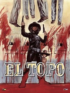 El Topo poster by Graham Humphreys.