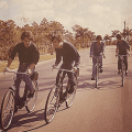Beatles_Bahamas_bicycles_1965