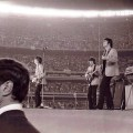 Brian Epstein at the Shea Stadium concert, August 1965, from What if Brian Epstein Lived? on Hey Dullblog