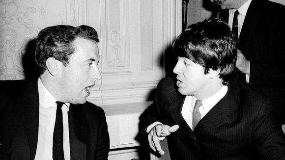 David Frost and Paul McCartney