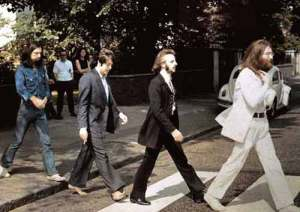 An outtake from Abbey Road