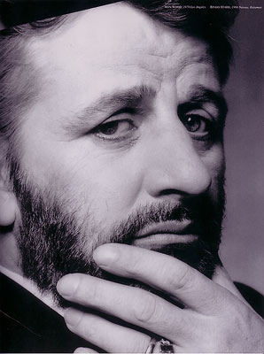 Ringo Starr with a thoughtful beard