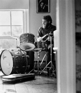 Robbie Robertson and Levon Helm Rehearsing