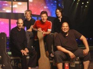 Paul McCartney and band