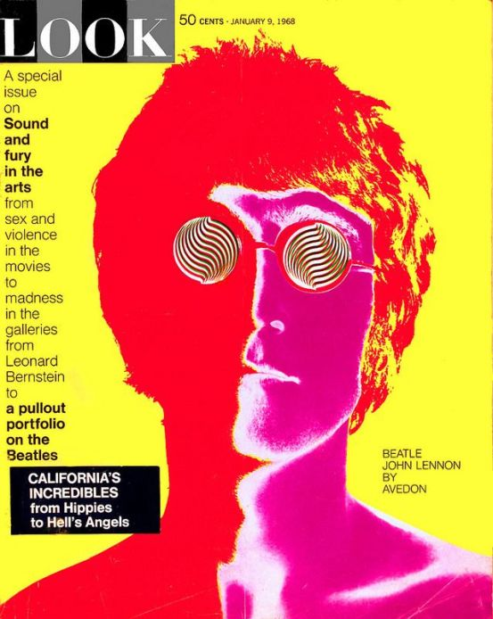 Lennon by Avedon for LOOK, 1968