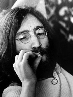 Lennon and pot cigarette