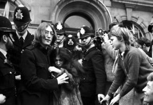 Lennon marylebone drug bust