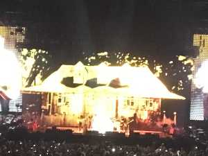 One of the sets was this convincing-looking house.