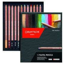 Caran D'Ache Pastel Pencil set of 12