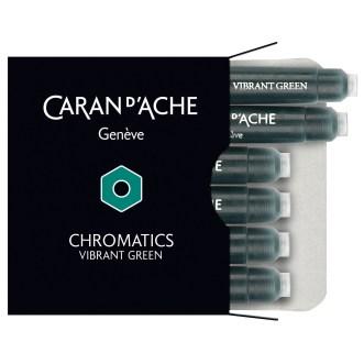 Caran D'Ache Chromatcs nk cartridge vibrant green