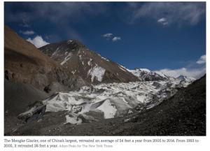 Mengke_Glacier_Retreating