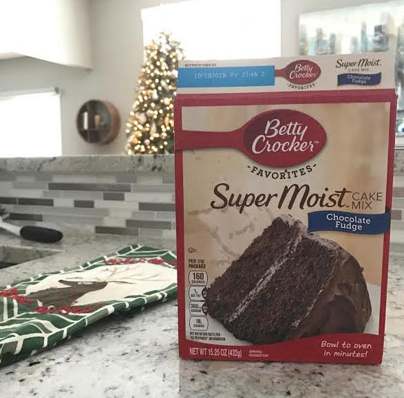 Candy Cane Cake Mix Cookies