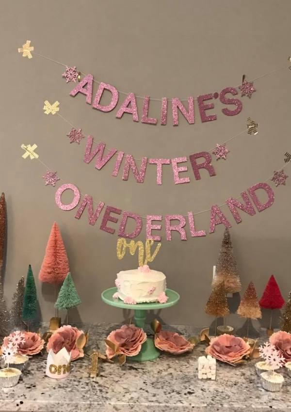 Adaline's First Birthday Party