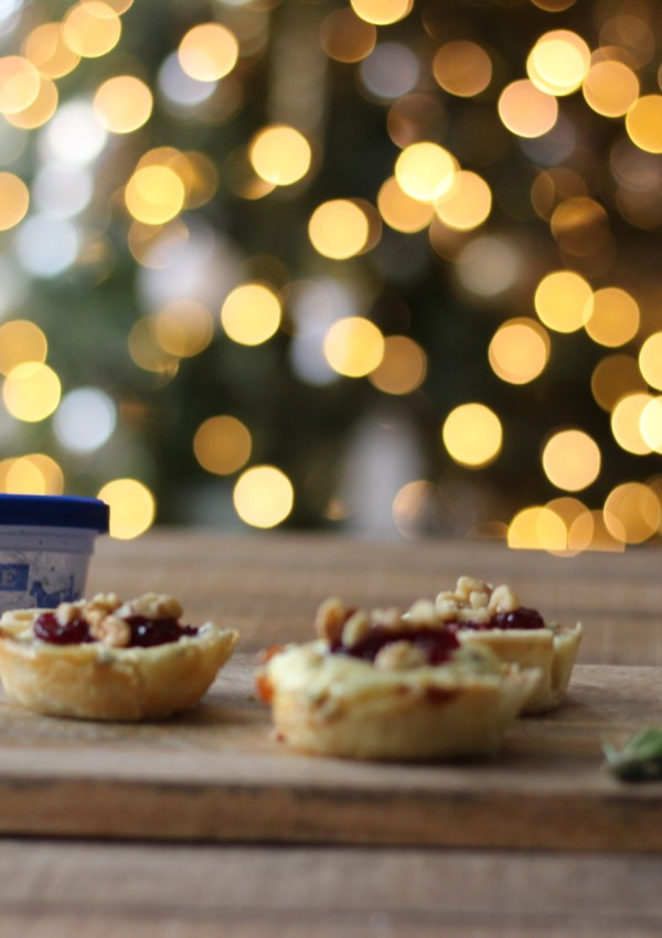 Cranberry Blue Cheese Tart Recipe