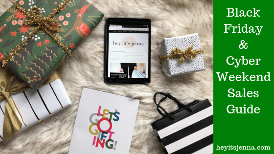 black friday shopping guide sales cyber