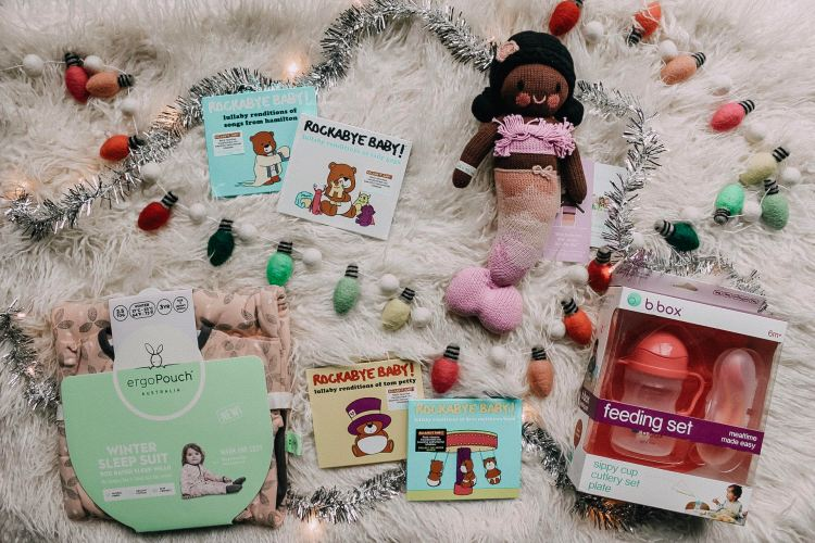 gift guide baby first christmas