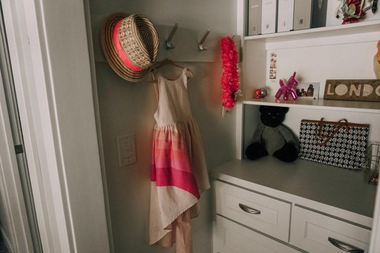 london's big girl room update