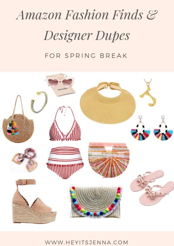 Amazon Fashion Finds & Designer Dupes for Spring Break