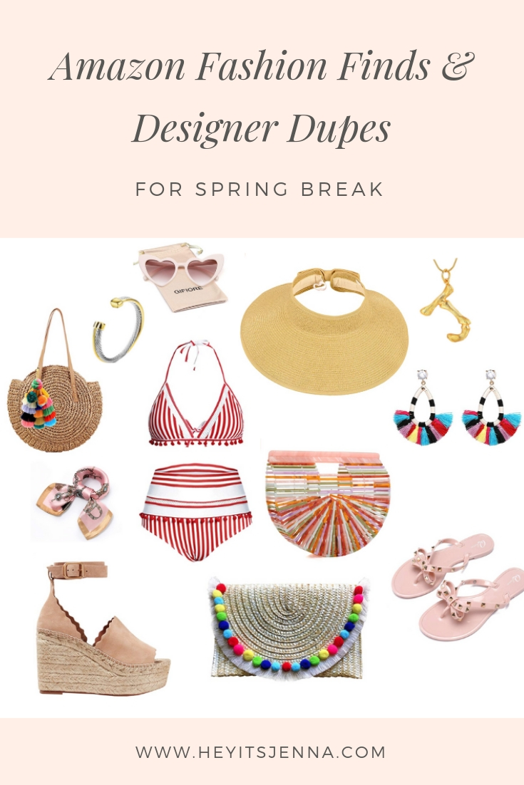 amazon fashion finds spring break designer dupe