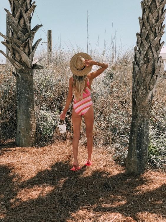 okaloosa island fashion travel blogger revolve niles swimsuit