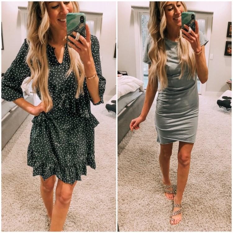 amazon dresses try on